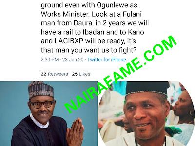 Yoruba Man Blasts Obasanjo, Hails Buhari, Says Buhari Is Better Than Him. People Supported Him.