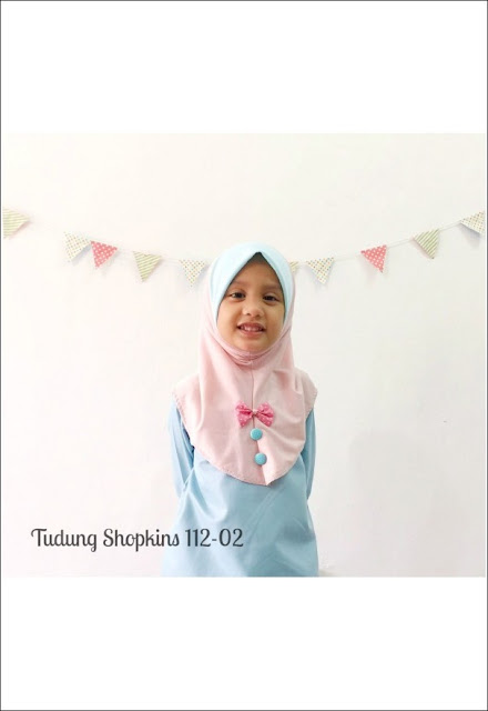 TUDUNG SHOPKINS - SOLD OUT