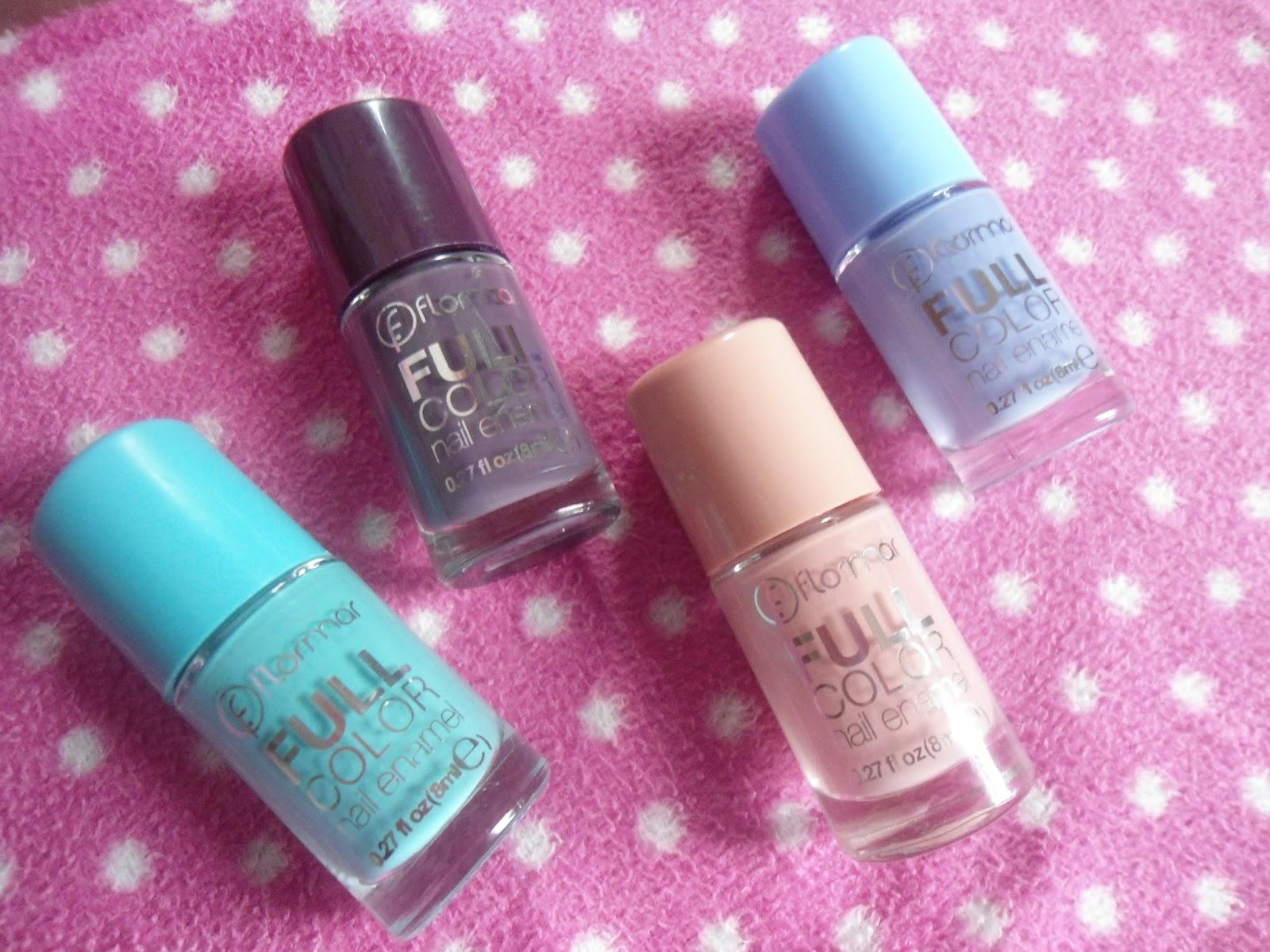 MonStar\'s little blog ~: FLORMAR Full Color Nail Enamel
