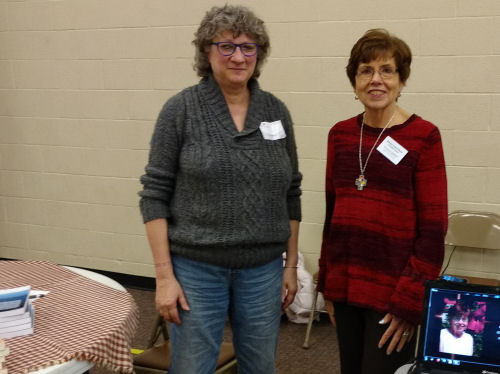 authors Barbara Kompik and Bonnie Jeanne-Marie