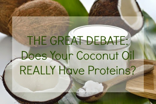 THE GREAT DEBATE: Does Your Coconut Oil REALLY Have Proteins?
