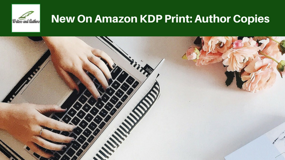 New On Amazon KDP Print: Author Copies