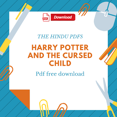 Harry Potter And The Cursed Child Pdf Free Download