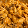 Instant Pot Recipe Creamy Shells and Beef