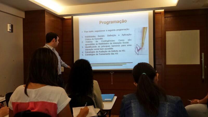Workshop em Brasília - Métodos de Avaliação e Treinamento das Habilidades Sociais 23