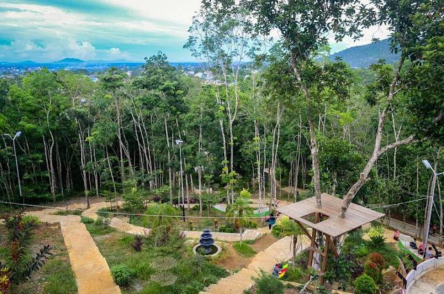 Taman Gunung Sari, Wisata Alam yang Kaya Spot Jogging Track