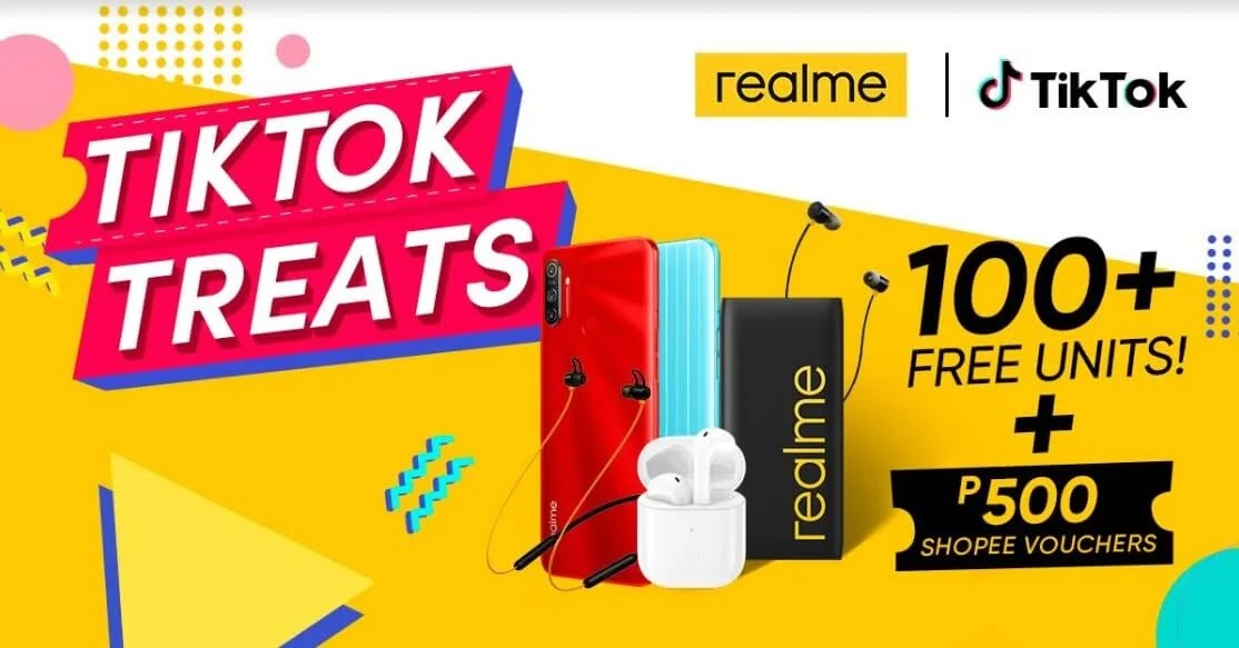 realme Partners with TikTok; Win realme Smartphones and Devices by Completing Challenges