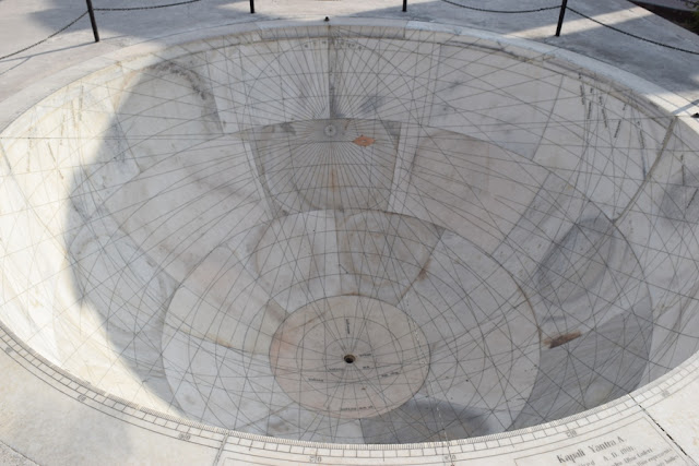 Sun dial Time in India