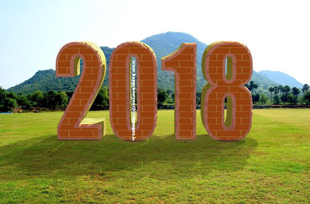 happy new year 2018 live wallpaper