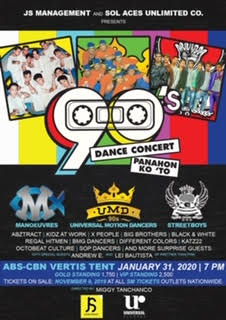 A night of grooves and nonstop dance moves: 90's Dance Concert: Panahon Ko 'To: