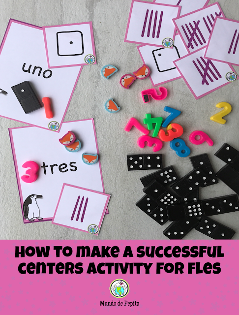 How to Make a Successful Centers Activity for FLES Elementary Foreign Language