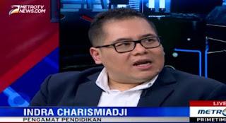 Indra : Guru di Indonesia Antikritik, Maunya Gaji Besar Tetapi Kualitas Rendah