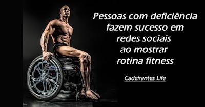 Pessoas com deficiência fazem sucesso em redes sociais ao mostrar rotina fitness