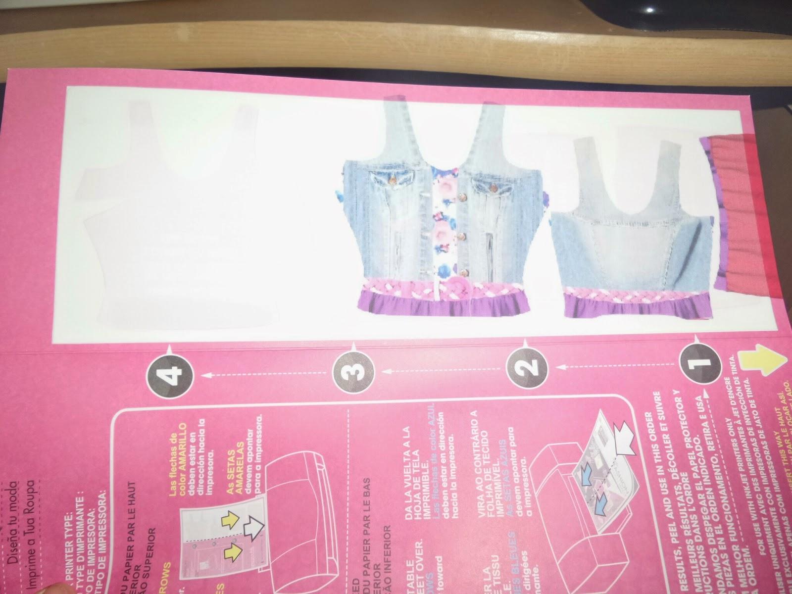 Barbie Fashion Design Maker printer issues