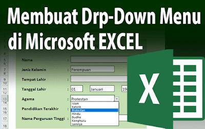 Cara Membuat Menu Drop Down di Excel tanpa Macro