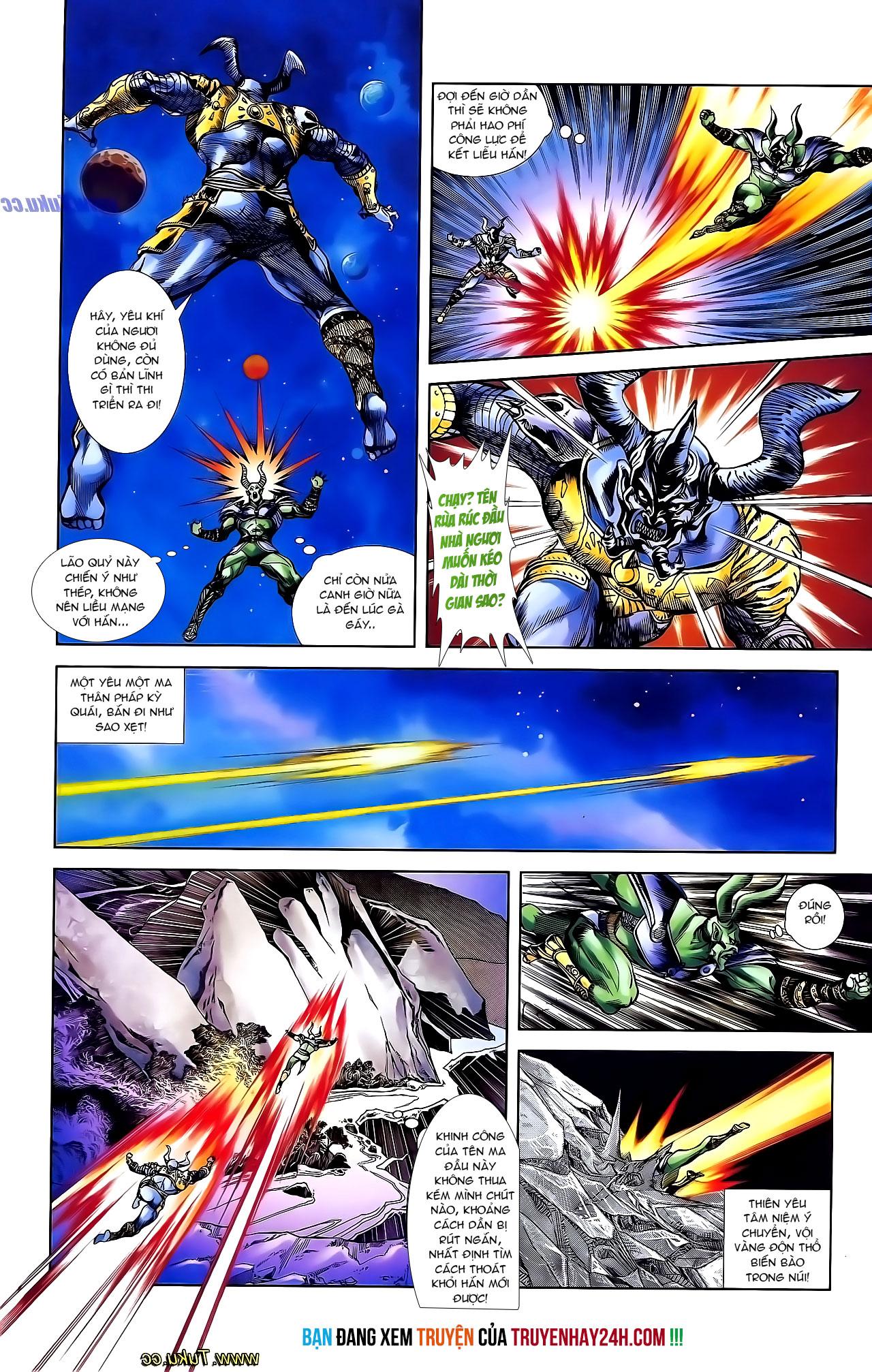 Cơ Phát Khai Chu Bản chapter 136 trang 27