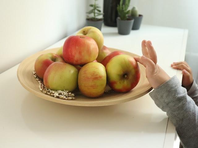 peindre avec une pomme