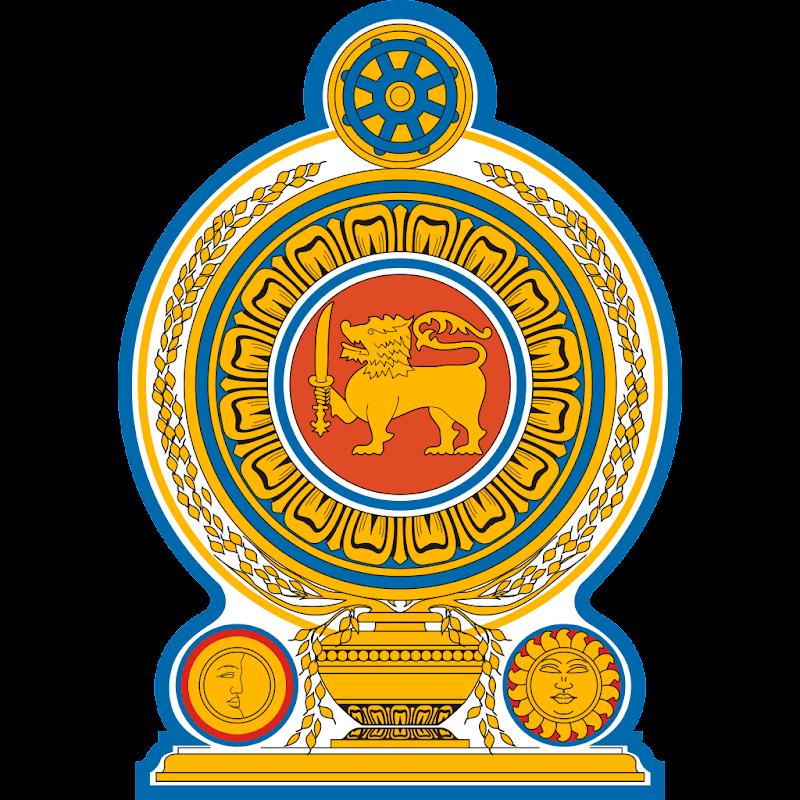 Logo Gambar Lambang Simbol Negara Sri Lanka PNG JPG ukuran 800 px