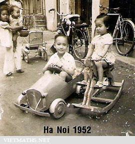 chiec xe velosolex ha noi truoc 1952
