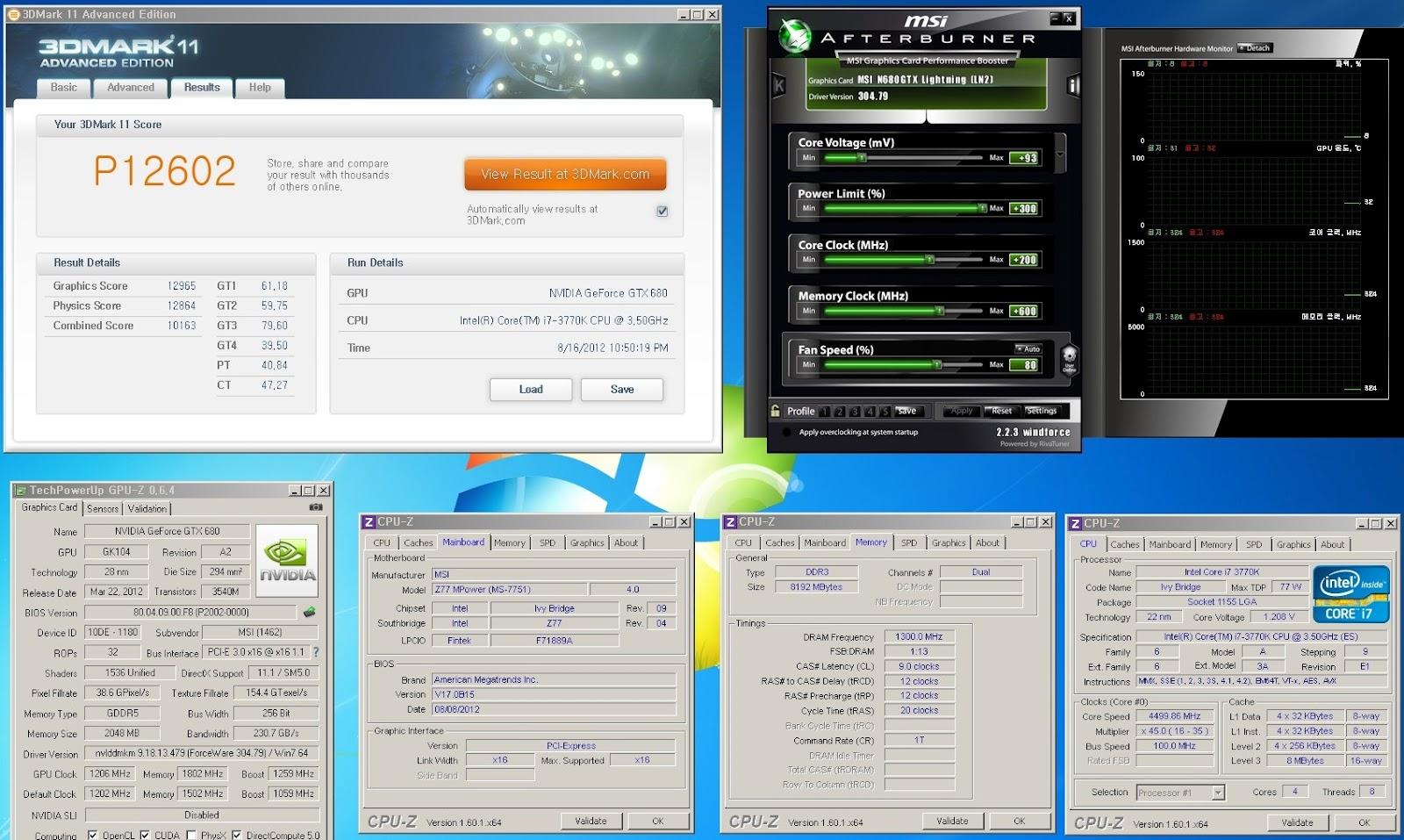 MSI Z77 MPower - Ivy Bridge (Z77) OC - HWBOT Community Forums