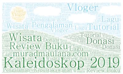 Kaleidoskop 2019 Blog muradmaulana.com