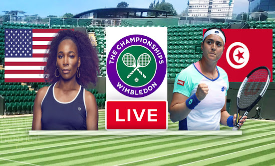Watch Match Tennis Ons Jabeur vs Venus Williams Live Stream In Wimbledon