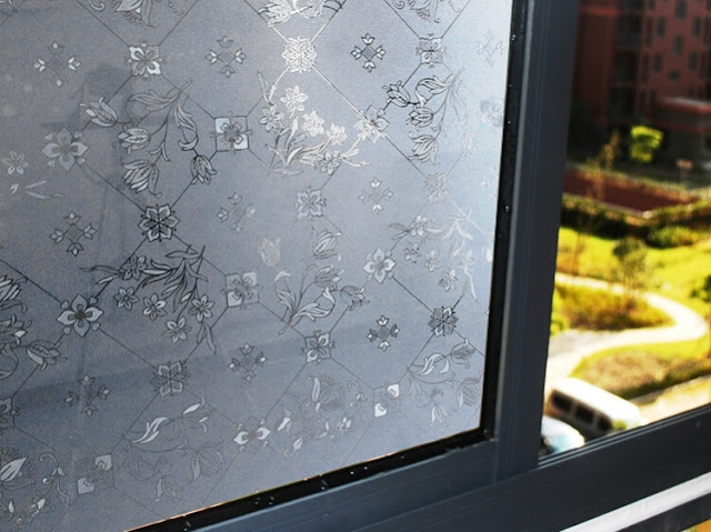 Static Cling WINDOW FILM for Sliding Glass Doors