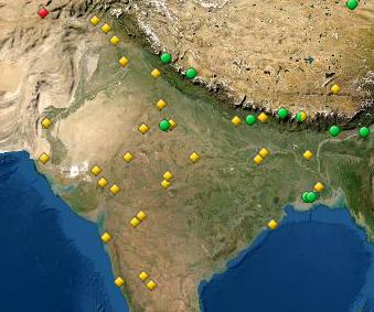 UNESCO World Heritage Site Map