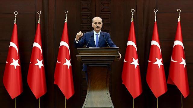 Kürdistan Kuzey Irak Bağımsızlık Referandum Türkiye Numan Kurtulmuş