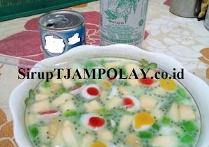 Sop Buah Siram TJAMPOLAY Khas Cirebon
