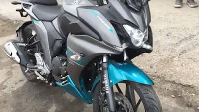 2017 Yamaha Fazer 250 (Fazer 25) blue shade hd image