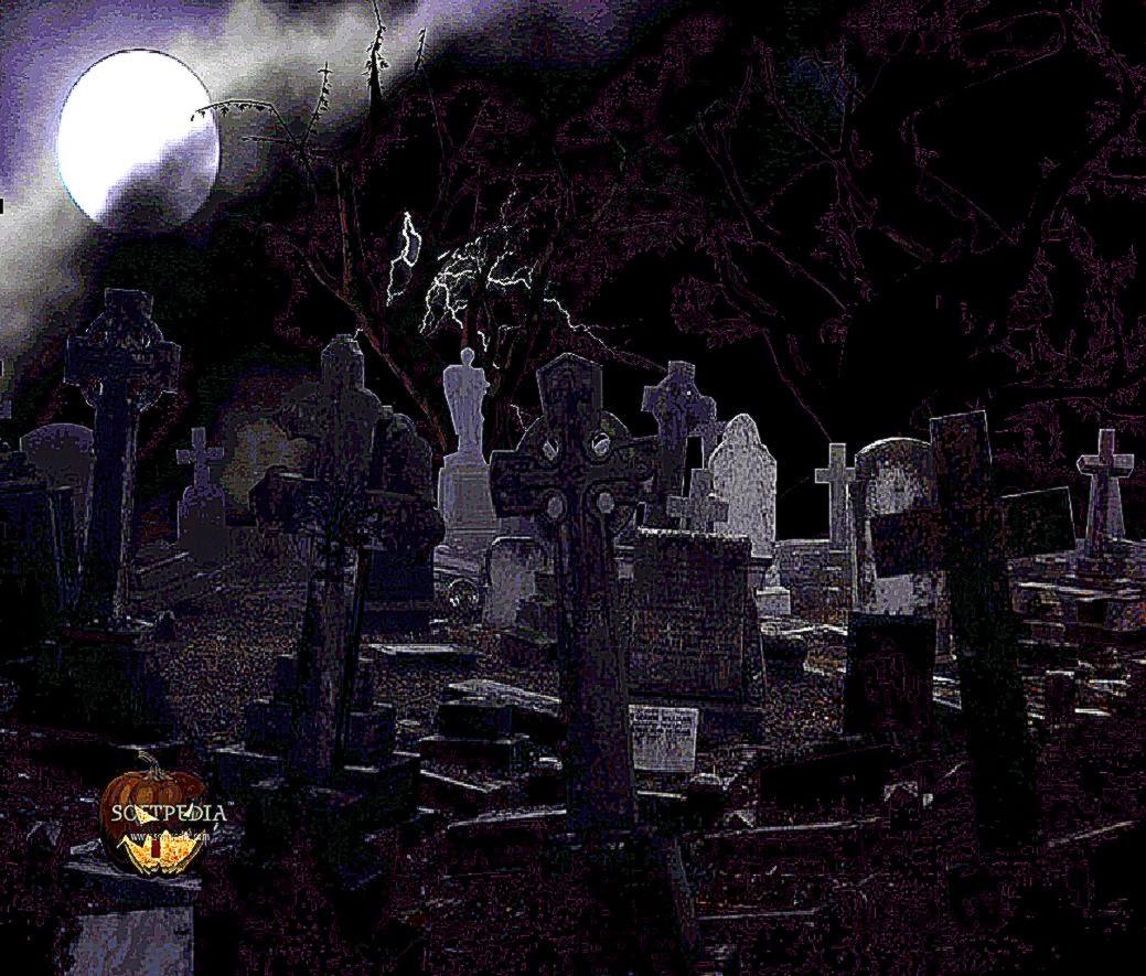 3D Animated Wallpaper Halloween