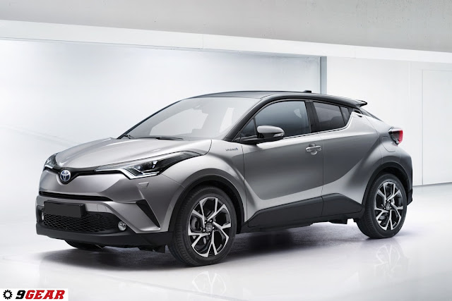 2017 toyota c hr innovative crossover car reviews new car pictures for 2018 2019. Black Bedroom Furniture Sets. Home Design Ideas