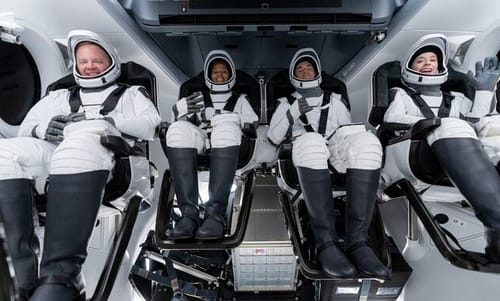 SpaceX launches into space tourism this week