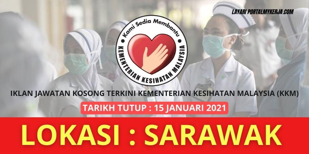 RASMI Jawatan Kosong Di KKM - Tarikh Tutup 15 Januari ...