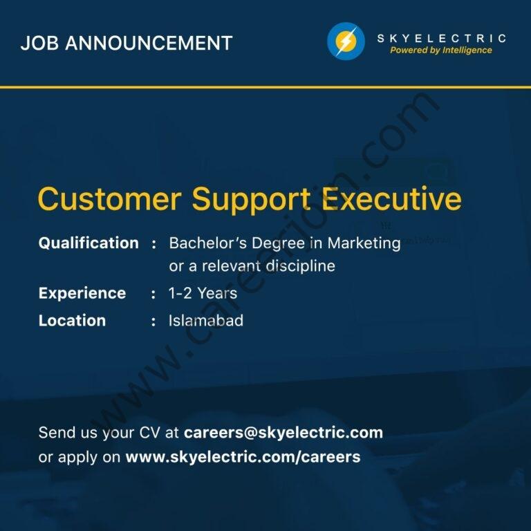 careers@skyelectic.com - SkyElectric Pvt Ltd Jobs 2021 in Pakistan