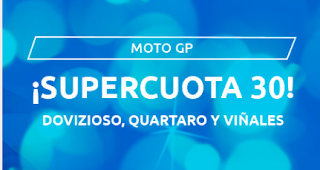 Mondobets supercuota 30 motogp andalucia 26-7-2020