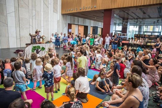 Koncertekkel, mesejátékkal és foglalkozásokkal készül gyermeknapra a Müpa