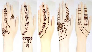 15 Best Mehndi Tattoo Design for hands 2020 Latest Images