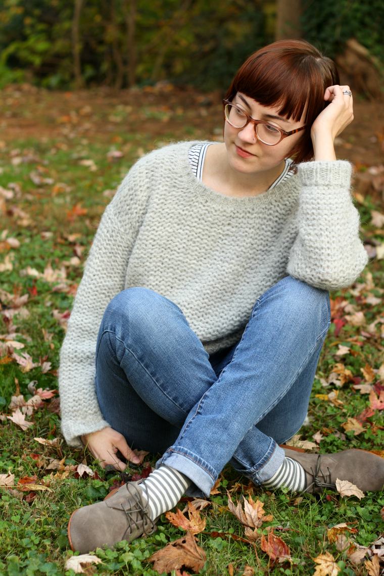 Eileen Fisher Sweater and Frye Tracy Oxfords Review, Ethical outfit