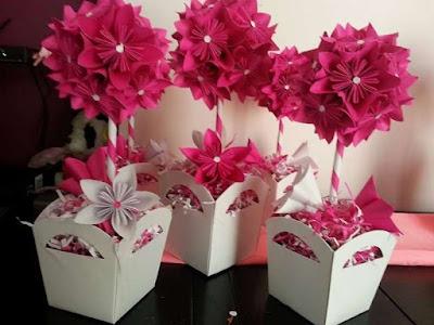 flores para centros de mesa lindas