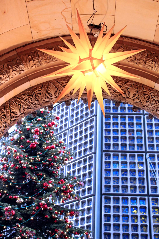 Kaiser Wilheim Memorial Church at Christmas in Berlin - travel & lifestyle blog