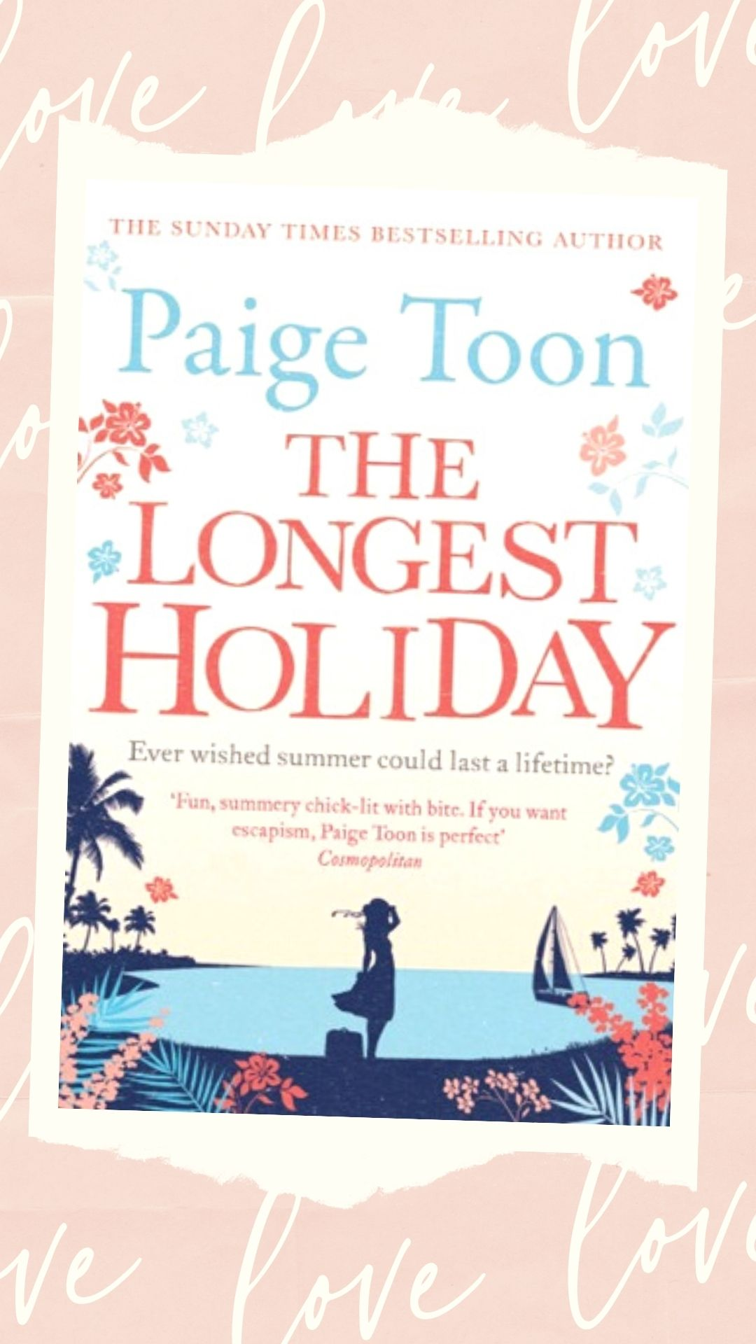 The Longest Holiday by Paige Toon book cover