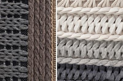 dizajnový nábytok Reaction, vlnené koberece, vzorované koberce