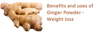 Benefits and uses of Ginger Powder - Weight loss