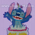 Stitch en Pastel decorado Fomiart