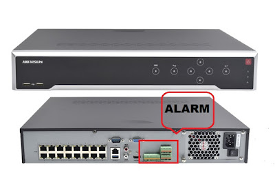 Cara setting Alarm In & Alarm Out DVR Hikvision