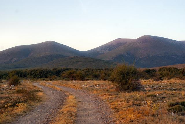 Moncayo: línea de cumbres desde cerca de Cueva de Ágreda