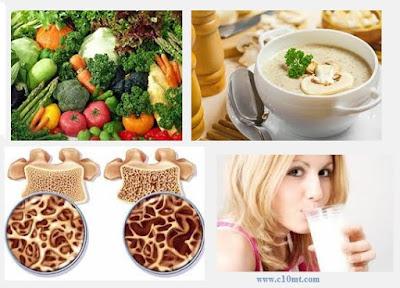 Ăn uống ra sao để ngăn ngừa và trị bệnh loãng xương