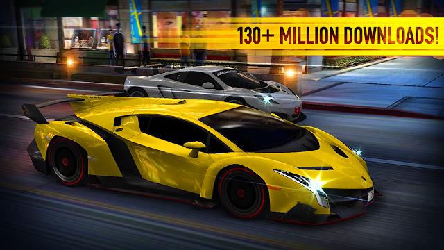 لعبة سباق السيارات للأندرويد CSR Racing